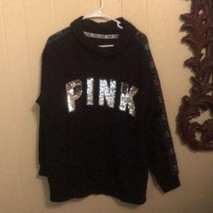 Victoria's Secret (Pink) fleece pullover